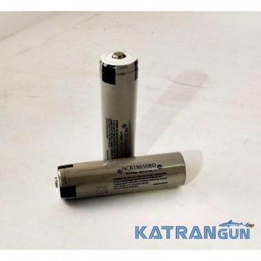 """Аккумулятор литий-ион. 18650 2600 mA/h (Samsung cell) с припаянной """"+"""" клеммой, без PCB"""