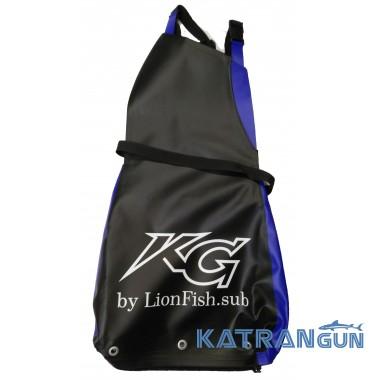 Сумка для сбора раков KatranGun (от LionFish); большая; 3-4 кг; карман слева