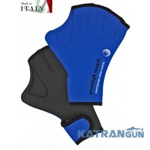 Перчатки для плавания с перепонками Aqua Sphere Velcro