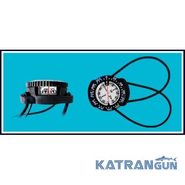 Компас наручний для дайвінгу BS Diver Standart з банджо