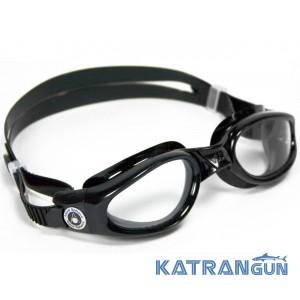 Мужские очки для плавания Aqua Sphere Kaiman, сlear lens/black
