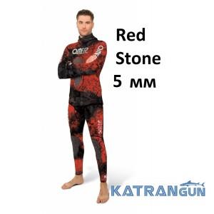 Камуфляжный гидрокостюм Omer Red Stone 5 мм