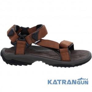 Комфортні сандалі чоловічі Teva Terra Fi Lite Leather M's