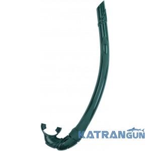 Трубка для подводного плавания Salvimar Siliconair зелёная