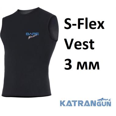 Майка утеплитель Bare S-Flex Vest 3 мм