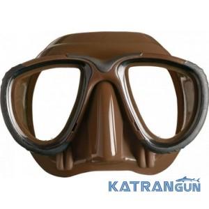 Профессиональная маска Mares TANA коричневая