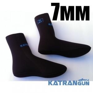 Носки для подводной охоты KatranGun Hunter Anatomic 7мм