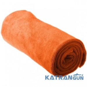 Легкое туристическое полотенце Sea To Summit Tek Towel M, Orange