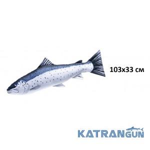 Подушка-игрушка Морская форель (103х33 см)