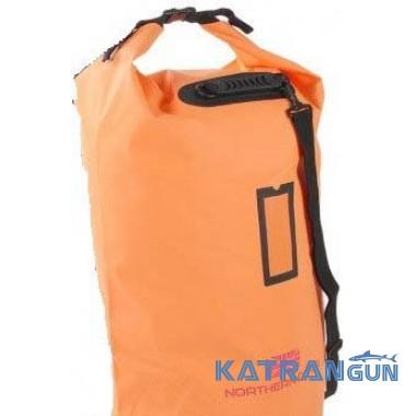 Герметичный мешок для дайвинга Nothern Diver Toll Top DryBag, 117л, оранжевый