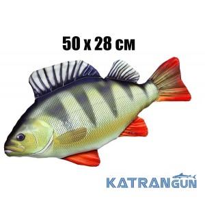 Подушка-игрушка Окунь (50х28 см)