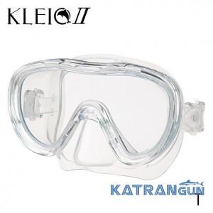 Маска для підводного плавання Tusa Kleio 2; прозорий