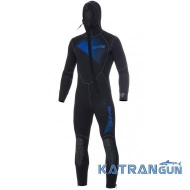 Гидрокостюм для дайвинга Bare Sport Hooded Full 5 мм