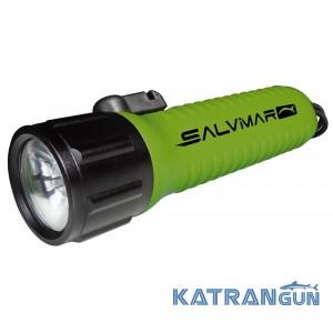 Фонарь для подводной охоты Salvimar Lecoled green