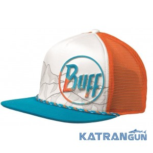 Стильная кепка Buff Trucker Cap starky multi