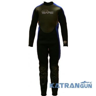 Подростковый гидрокостюм Bare Junior Velocity Full 3-2 мм