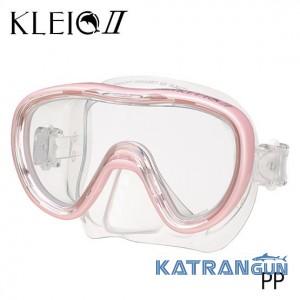 Маска для дайвінгу Tusa Kleio 2 pink