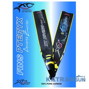 Ласты фридайв Xt Diving pro Pteryx Competition Andrea Zuccari