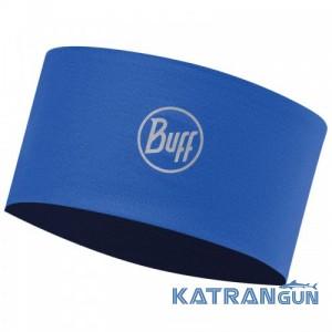 Багатофункціональна пов'язка Buff UV Headband r-solid cape blue