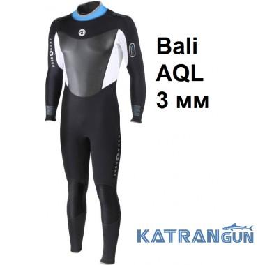Мокрий гідрокостюм чоловічий Aqua Lung Bali AQL 3 мм
