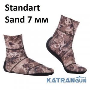 Носки для подводной охоты Marlin Standart Sand 7 мм