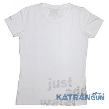 Мужская футболка дайвинг Mares Team; белая