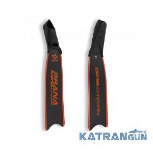 Карбоновые ласты для охоты Cetma Composites Carbon Fins Prana