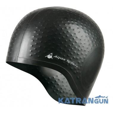 Шапочка для плавания Aqua Sphere Aqua Glide; черная