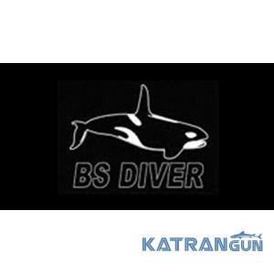 BS Diver Рукоятка пластикова для вентиля балона; чорний