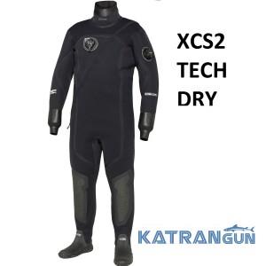 Сухой гидрокостюм мужской Bare XCS2 Tech Dry
