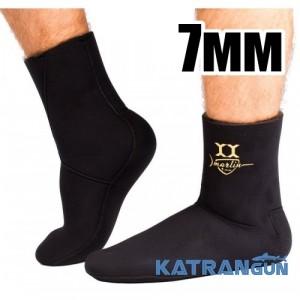 Шкарпетки підводного полювання Marlin Yamamoto Anatomic Duratex 7 мм