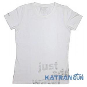 Женская футболка для дайвера Mares Team; белая