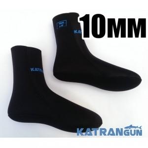 Носки для подводной охоты 10мм KatranGun Hunter Anatomic