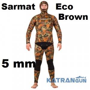 Гидрокостюм Marlin Sarmat Eco Brown 5 мм