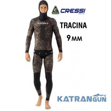 Зимний гидрокостюм для подводной охоты Cressi Tracina 9 мм (штаны короткие)