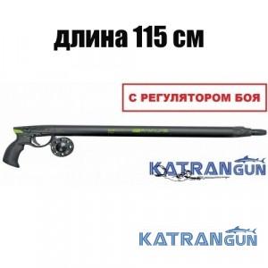 Пневмовакуумное подводное ружьё Salvimar Predathor Vuoto 115 (с регулятором) + катушка