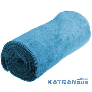 Рушник для туризму Sea To Summit Tek Towel L, Pacific Blue