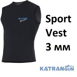 Жилетка Bare Sport Vest 3 мм