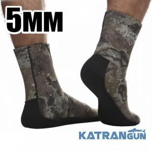 Підводні шкарпетки Marlin Anatomic Duratex Green 5 мм