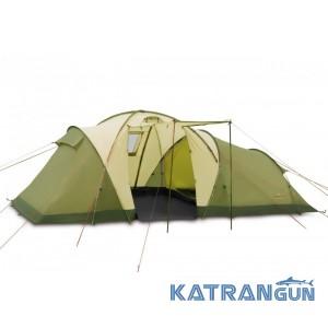 Палатка кемпингова Pinguin Omega 6, Green