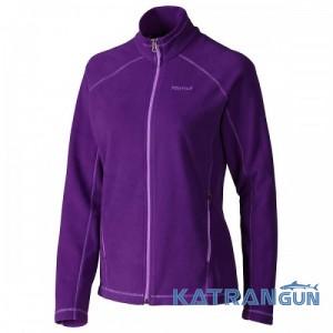 Кофта из мягкого флиса Marmot Wm's Rocklin Full Zip Jacket, Lavender Violet