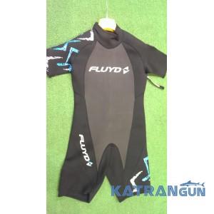 Мужской гидрокостюм для плавания Salvimar Fluyd Shorty 2 мм