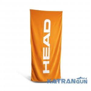 Бавовняний рушник Head Sport; 140 х 70 см  помаранчевий