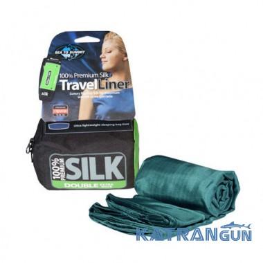 Вкладыш для спальника Sea To Summit Silk Liners, Eucalyptus