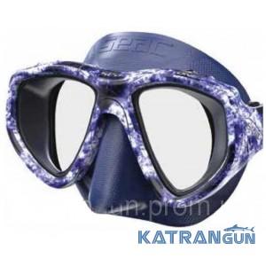 Маска для підводного полювання Seac Sub One Makaira; синя