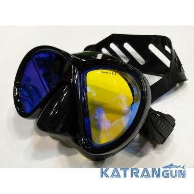 Маска для подводной охоты с просветленными стеклами BS Diver Mirola