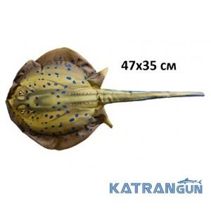 """Подушка-игрушка рыба """"Скат"""" (47х25 см)"""
