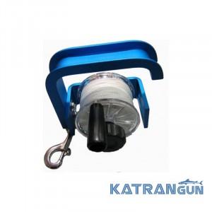 Котушка безпеки з фіксатором металева Best Divers Safety Reel 50m D-2,5 mm