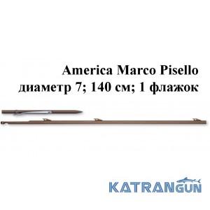 Гарпун Omer America Marco Pisello диаметр 7; 140 см