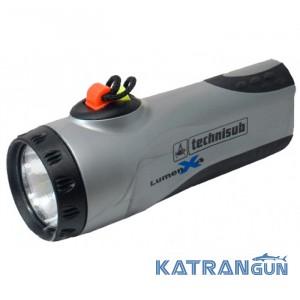 Ліхтар для підводного полювання AquaLung Lumen X4; сірий